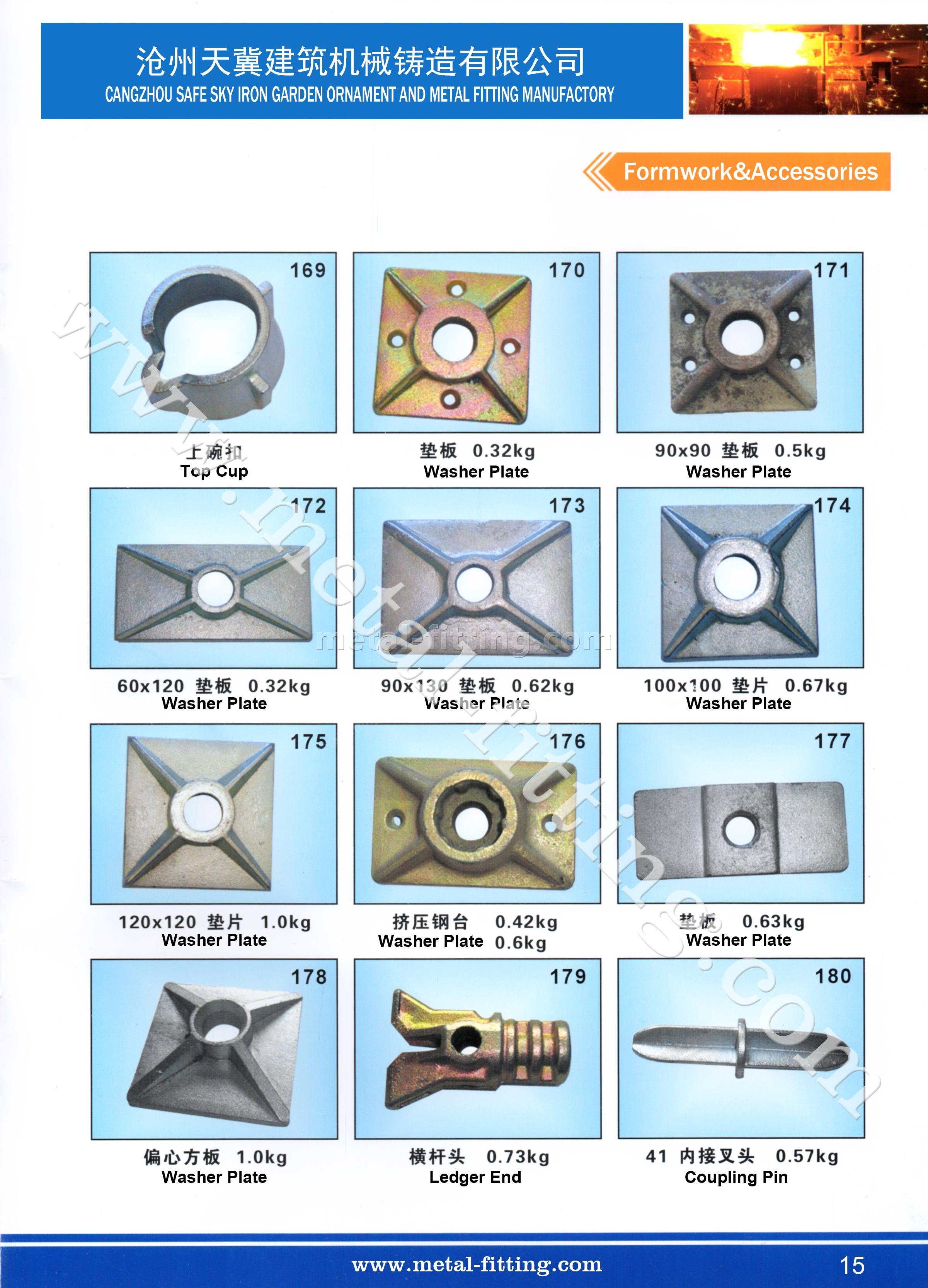casting steel metal fitting, scaffolding system-15