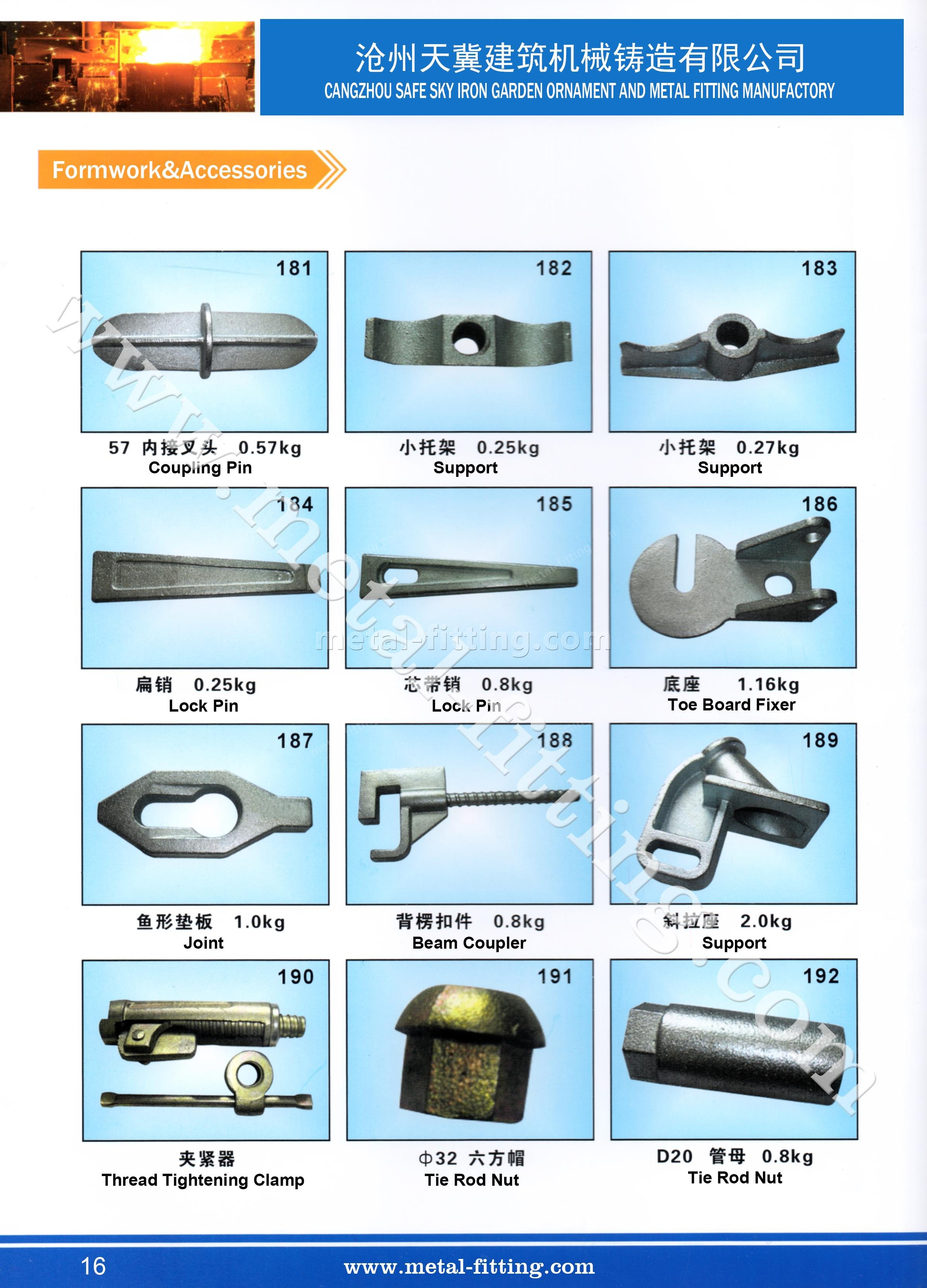 casting steel metal fitting, scaffolding system-16