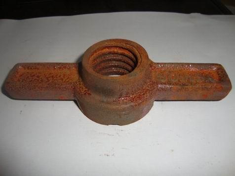 Great quailty Nodular/ ductile iorn jack nut nut of scaffolding systems-16