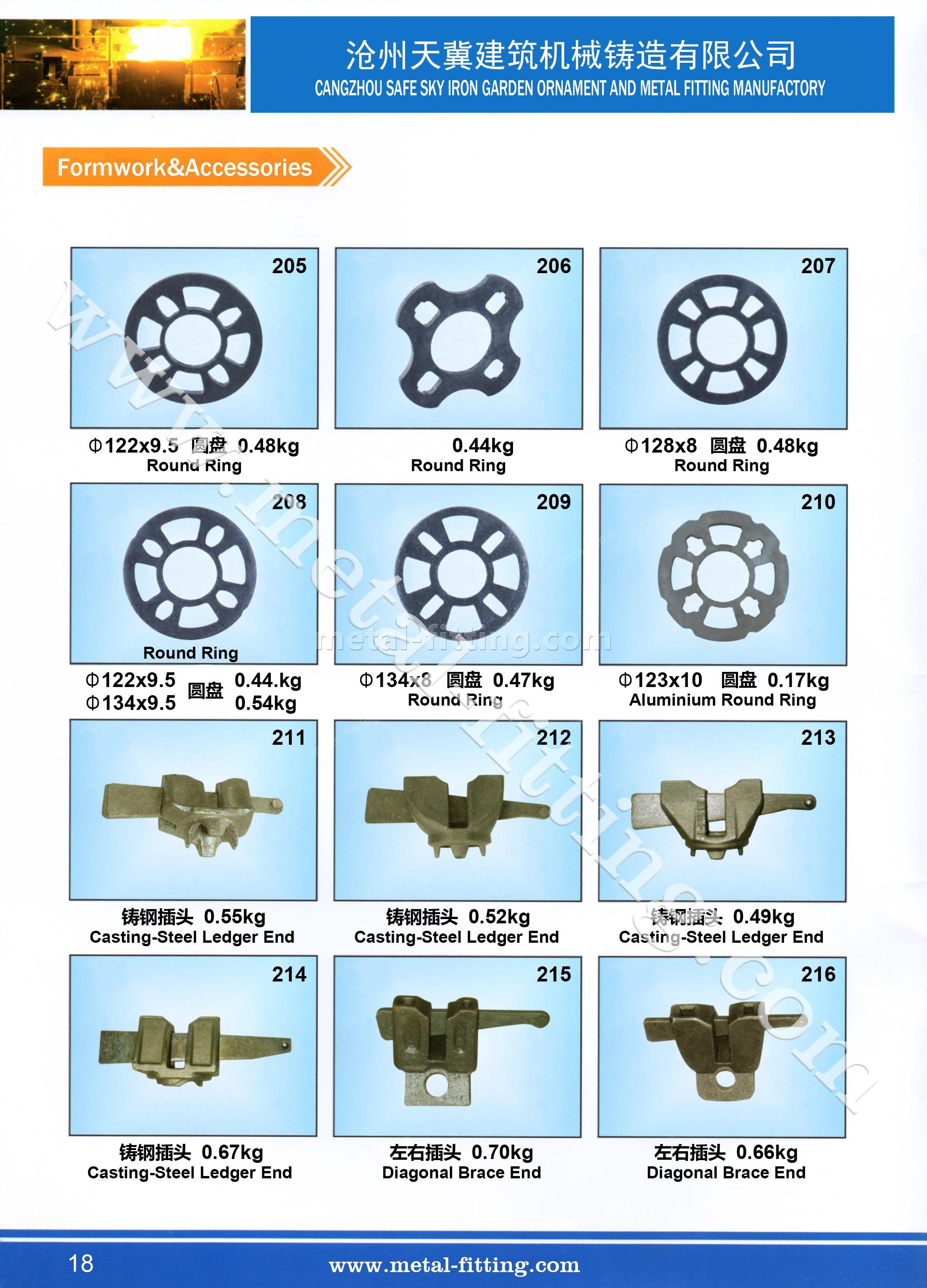casting steel metal fitting, scaffolding system-18