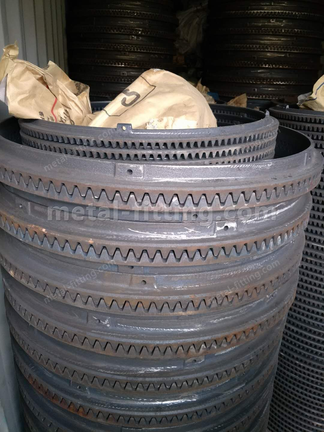 GG20 ductile iron concrete/cement mixer wheels  ring gear ring  pinion gears-507970470670328015