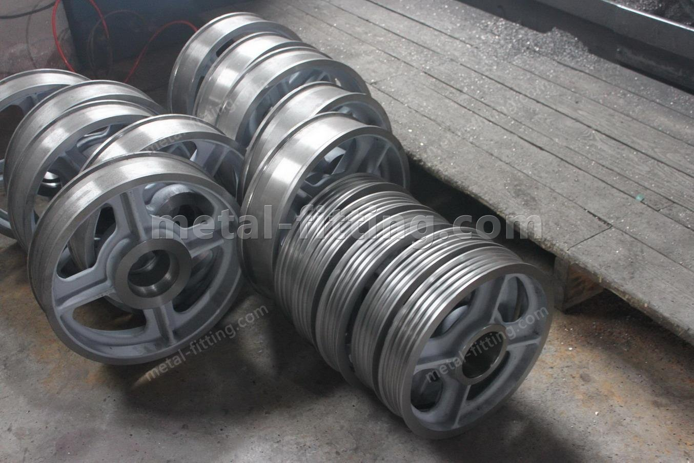 GG20 ductile iron concrete/cement mixer wheels  ring gear ring  pinion gears-IMG_7149