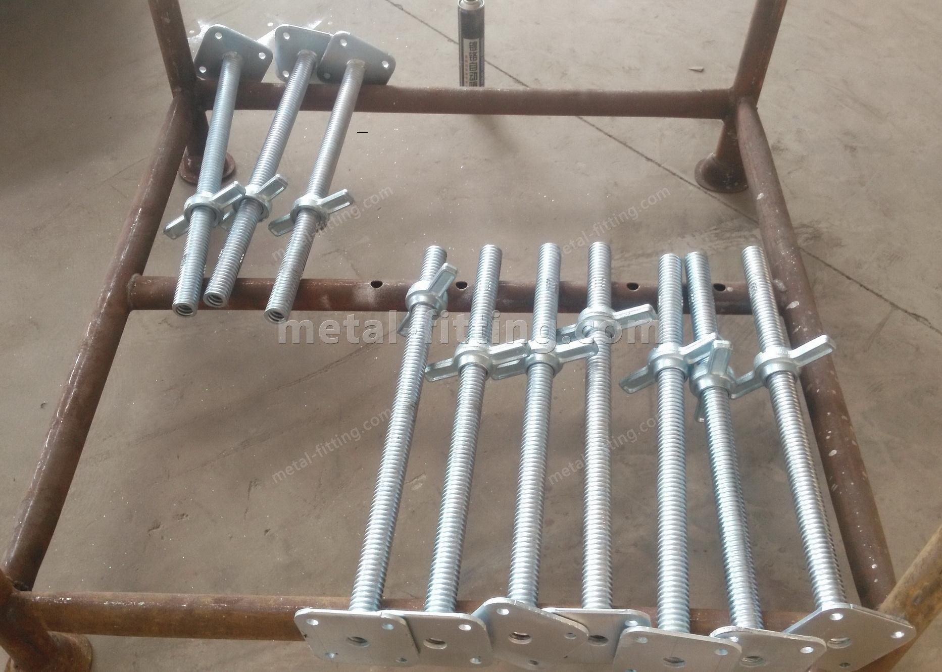 scaffolding standards jack base,scaffolding,scaffold part-jack base