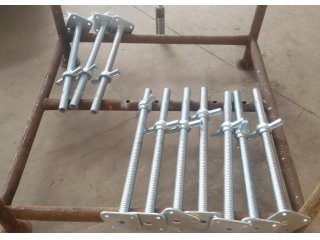 scaffolding standards jack base,scaffolding,scaffold part