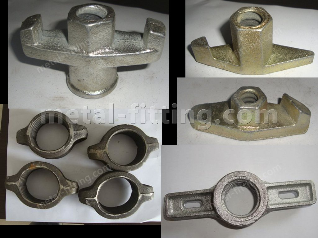 Galvanized wing nut imperial nuts and bolts of scaffold fittings-tie rod nut