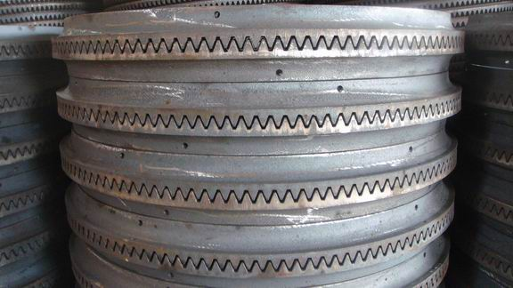 cast iron large mixer wheels, metal iron ring gear for concret mixer-ring gear (7)