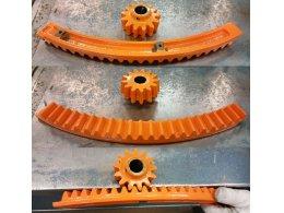 cement mixer cast iron ring gear,metal concret mixer wheel,spinning gear ring