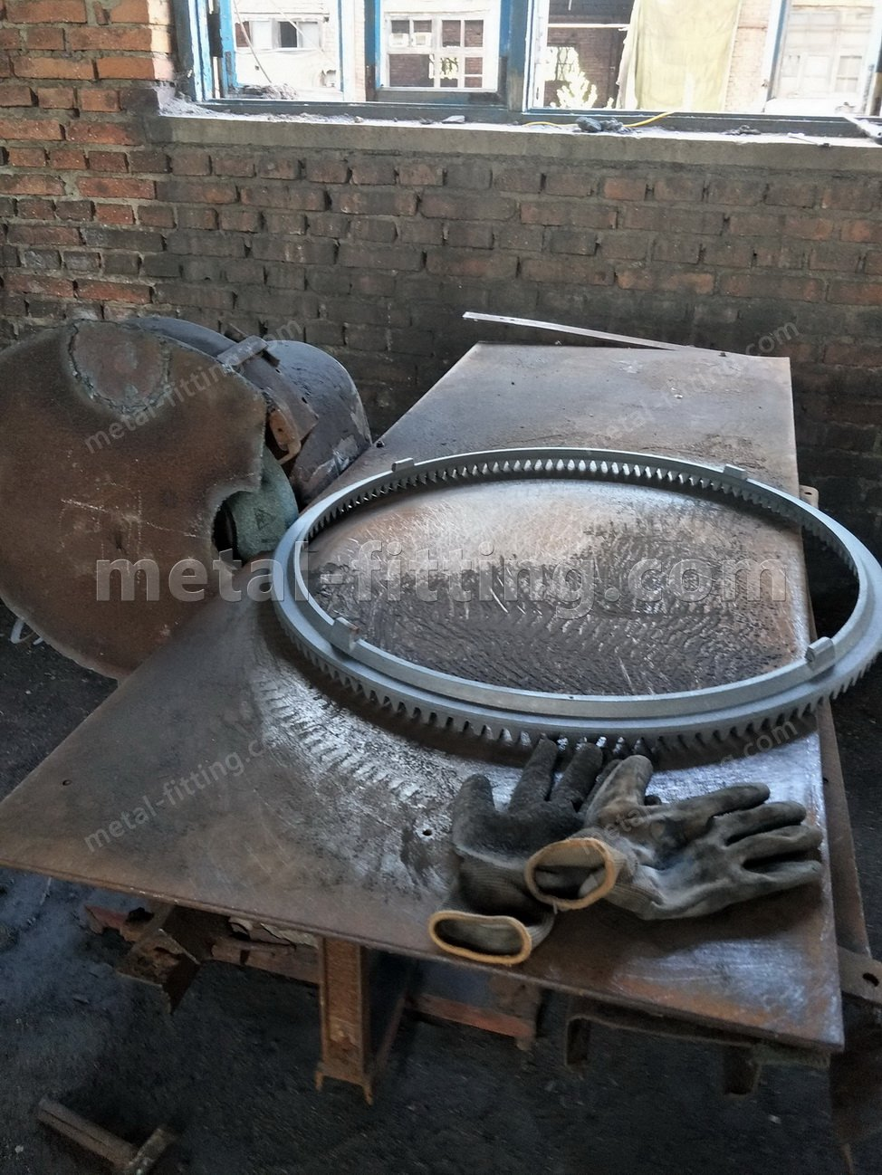 large metal ring gear,gear ring,ring and pinion gear sets for cement mixer-IMG20180724172001