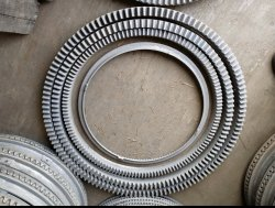 large iron crown gear ring for iron concrete Mixers