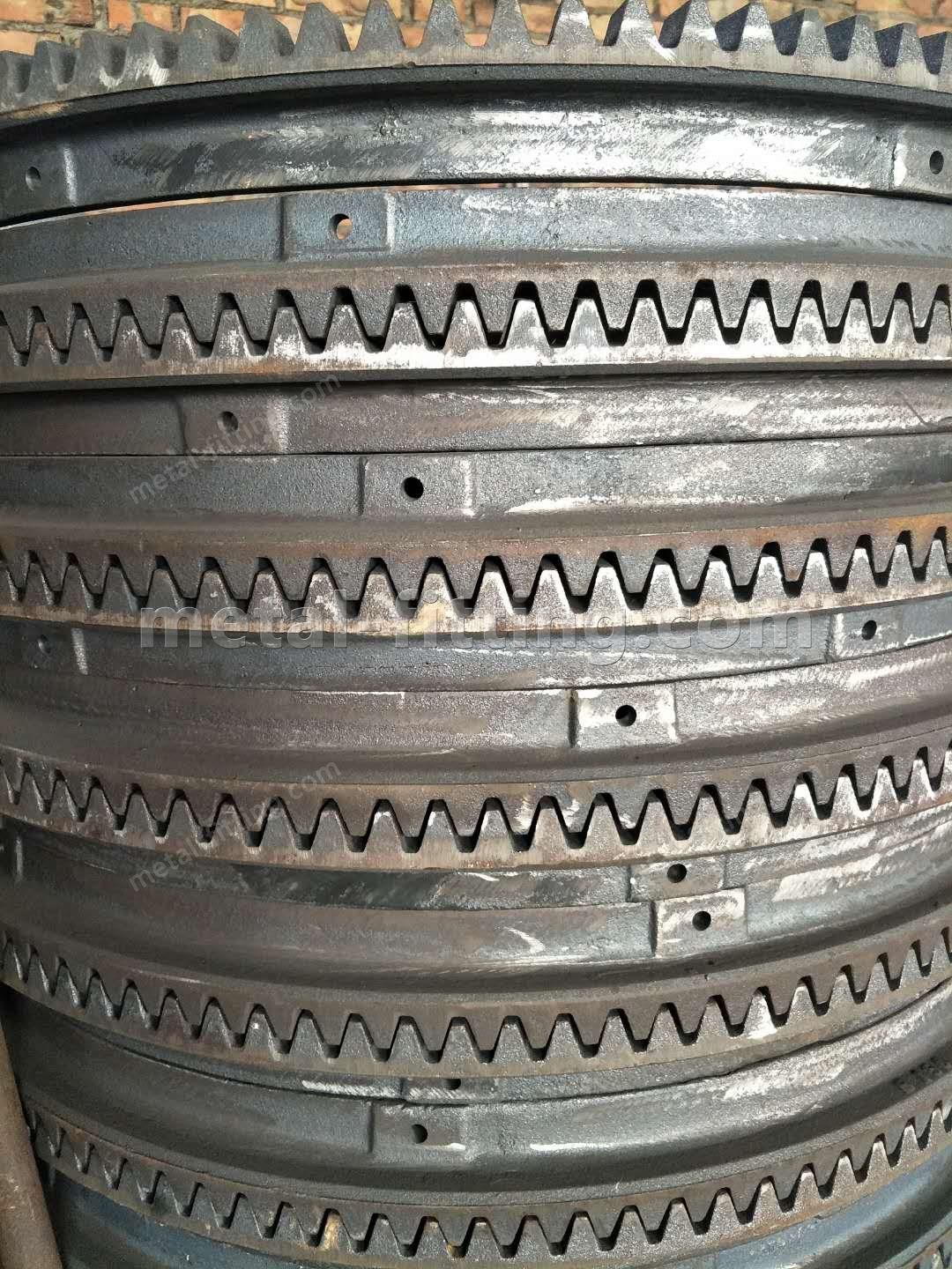 Casted iron Ring Gear and Pulley for concret Mixer-19702390350007395