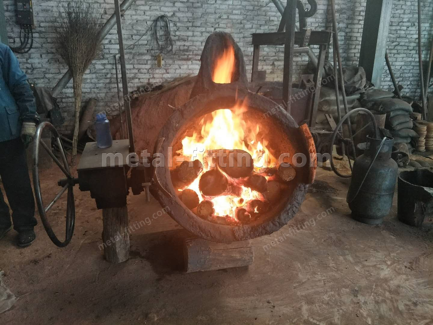 Casted iron Ring Gear and Pulley for concret Mixer-312383611955901193