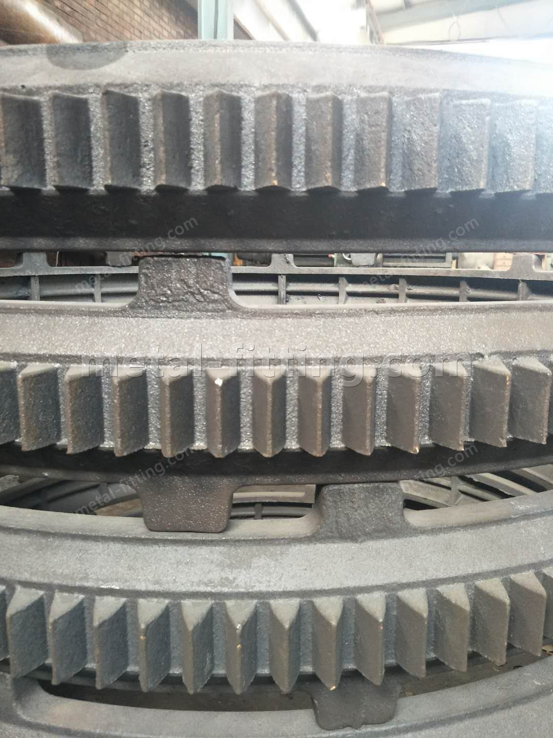 Casted iron Ring Gear and Pulley for concret Mixer-363228096312342471