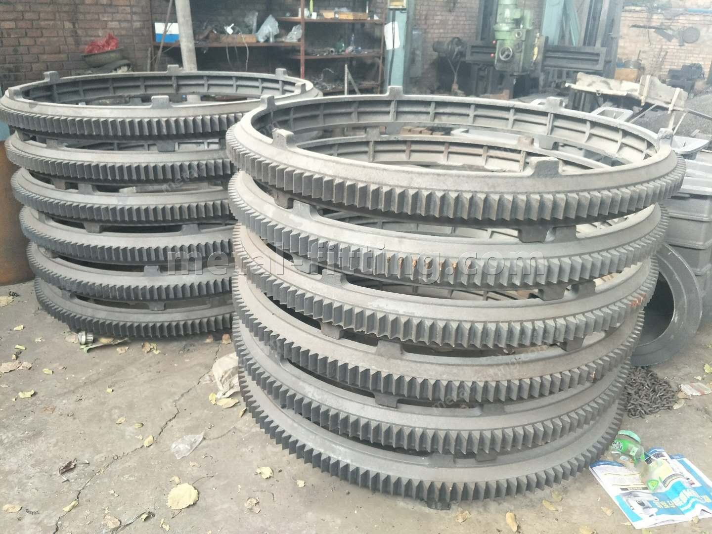 Casted iron Ring Gear and Pulley for concret Mixer-391331226655923181