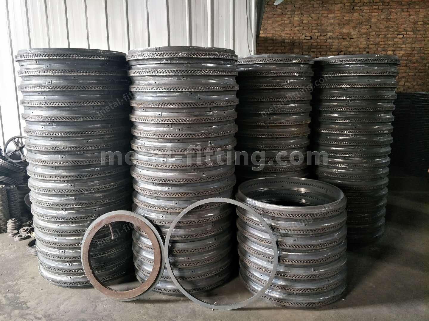Casted iron Ring Gear and Pulley for concret Mixer-400264970700798907