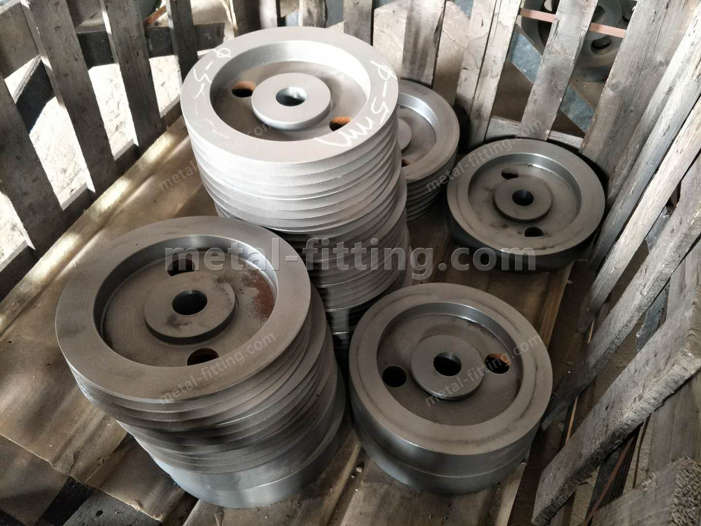 Casted iron Ring Gear and Pulley for concret Mixer-419545062536830546