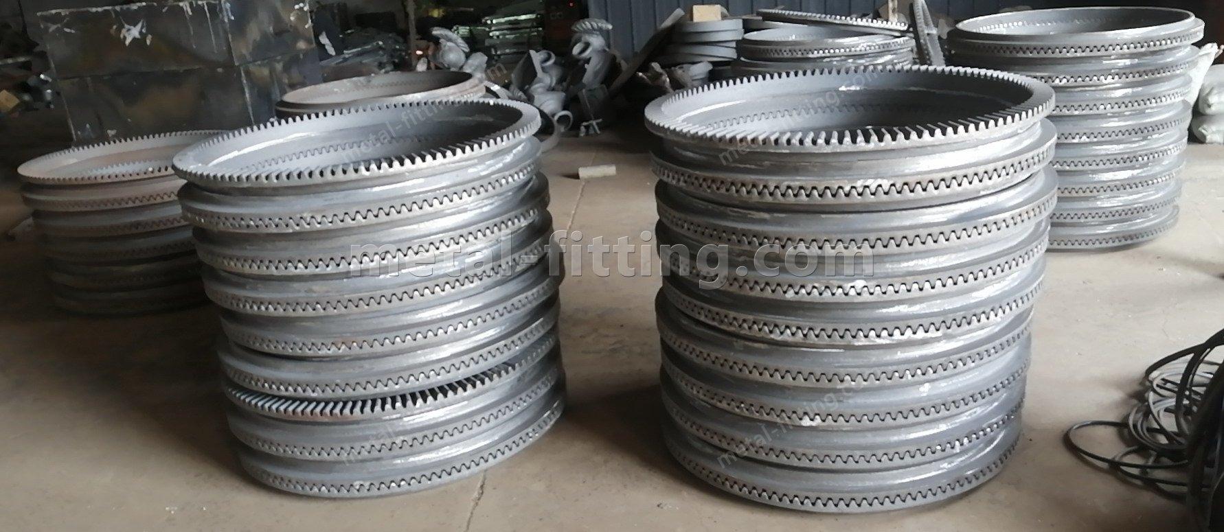 cast iron crown ring gear for concrete mixer-48d3eadfc999d18314e915c69395f08