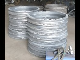cast iron crown ring gear for concrete mixer