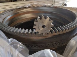 crown gear ring ,cast iron ring gear and pinion set